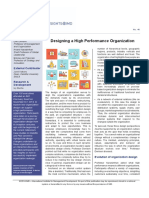 5 Qualities of a High Performance Organization