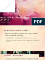 Narrative Structure Music Video Analysis