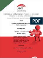 Trabajo Negocios Internacionales - Canales de comercialización