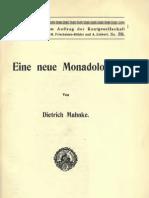 Eine Neue Monadologie_Dietrich Mahnke