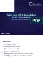 D2T2 - Stefan Esser - Tales From IOS 6 Exploitation and IOS 7 Security Changes