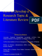 Literature Review guideline