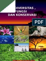 9. Biodiversitas, Fungsi Dan Konservasi