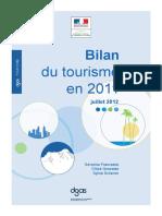 1207_DGCIS_Bilan Du Tourisme en 2011