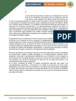 FUNDAMENTO TEORICO ESTRUCTURAS METALICAS Y CIMENTACION PROYECTO