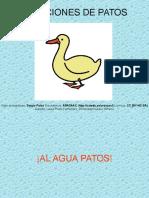 Canciones de Patos