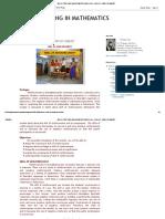 Micro Teaching in Mathematics_ Module 4 - Skill of Reinforcement
