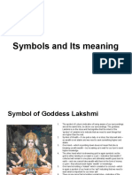 Symbols and their meaning.