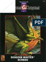DMR1 - Dungeon Masters Screen