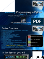 5-Mastering Python Lesson5 MoreOnLoops NestedLoops