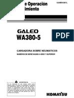 Manual de Operación y Mantención WA 380 - 5.pdf