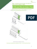 218-Ldbe Com Filtro de Areia e Timer