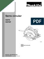 5007n Serra Circular Makita