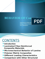 Behavior of Composites-final