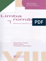 Manual romana clasa 8 - Alexandru Crisan, Sofia Dobra, Florentina Samihaian.pdf