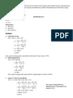 Latihan Distribusi Peluang & Jawaban