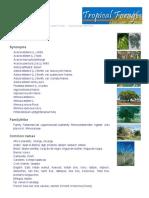 Factsheet - Albizia lebbeck