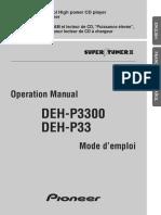 Pioneer DEH-P3300 Owner's Manual.pdf