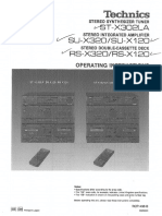 Technics St-x302la Su-x320 x120 Rs-x320 x120 [HiFiEngine]