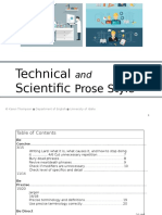 Technical science English