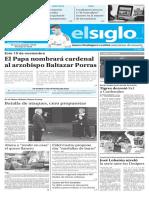 Edición Impresa El Siglo 10-10-2016