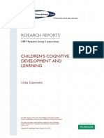 COMPLETE REPORT Goswami Childrens Cognitive Development and Learning