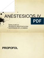 ANESTESICOS ENDOVENOSOS (1)