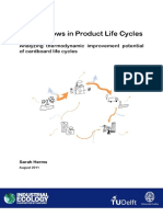 Energy Flows in Product Life Cyle