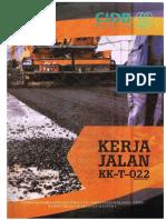 Kerja Jalan KK-T-022 CIDB
