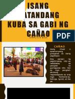 Isang Matandang Kuba Sa Gabi Ng CaÑao 2