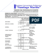 Ficha de Observacion Sonia Colina -Misión Sucre