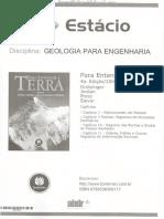 Apostila de Geologia Para Engenharia (1º Semestre)