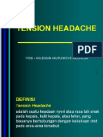 1. Tension Headache