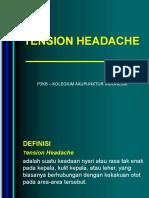 1. Tension Headache