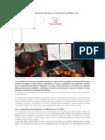 Trabajar Las Competencias Basicas a Traves de La Musica