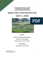 Manual Para La Realizacion de Una Huerta - Jardin