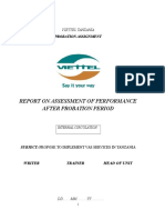 Halotel -Vas_probation Report