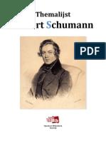 Themalijst Robert Schumann
