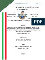 1.- Proyectos _Analisis Termografico a Motores y Tableros de Control