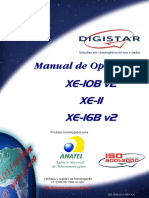 Manual Digistar XE-16B