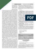 Modifican el Reglamento de Organización y Funciones de la Municipalidad Distrital de Chancay en lo referente a la administración de los servicios de saneamiento