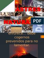7.-  DESASTRES NATURALES