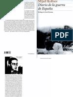 45871553 Kolstov M Diario de La Guerra de Espana