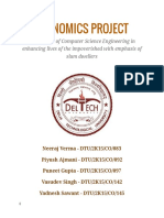 Economis Project - Role of Computer Science Engineering