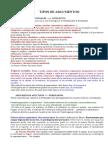 Ejemplos de Argumentos y Falacias 3