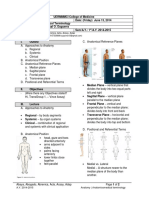 Anatomy 1.1 - Anatomicomedical Terminology