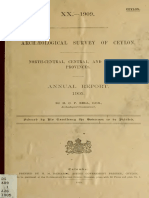 Archeological Survey of Ceylon -ANUAL REPORT 1905