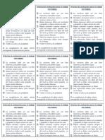 Criterios de Evaluación Para El Trabajo Con Mapas