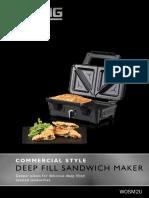 Waring Deep Fill Sandwich Maker