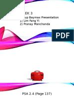 Financial Accounting Presentation